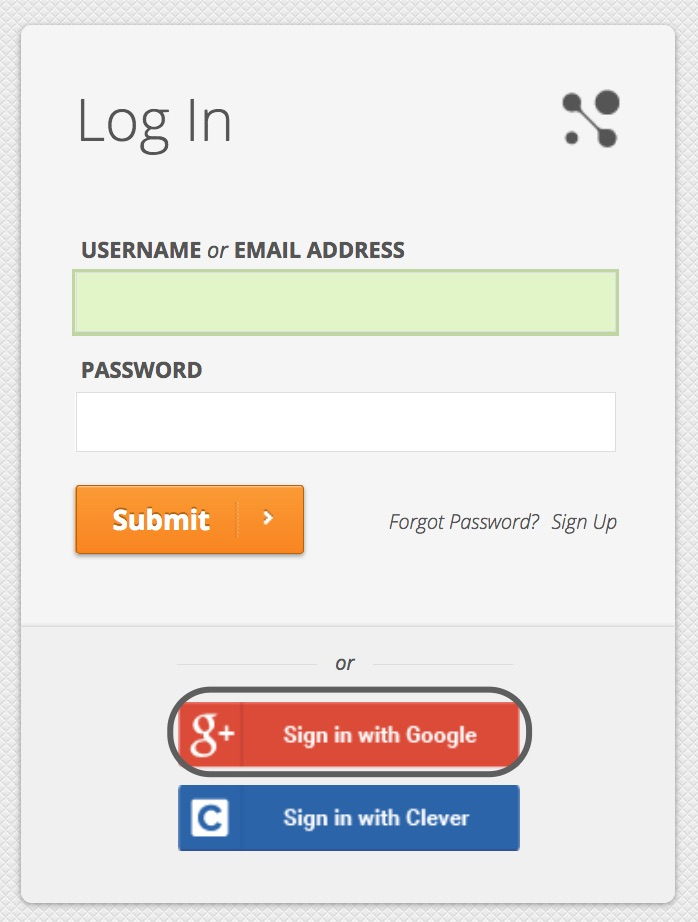 Single Sign-On Using Google